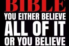 All in the Bible are TRUTH