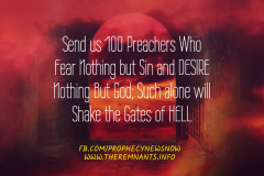 Send us 100 Preachers