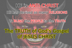 The Devil is not ANTI RELIGION